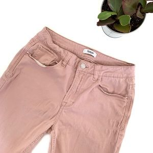 Kensie Blush High Rise Ankle Skinny Jeans